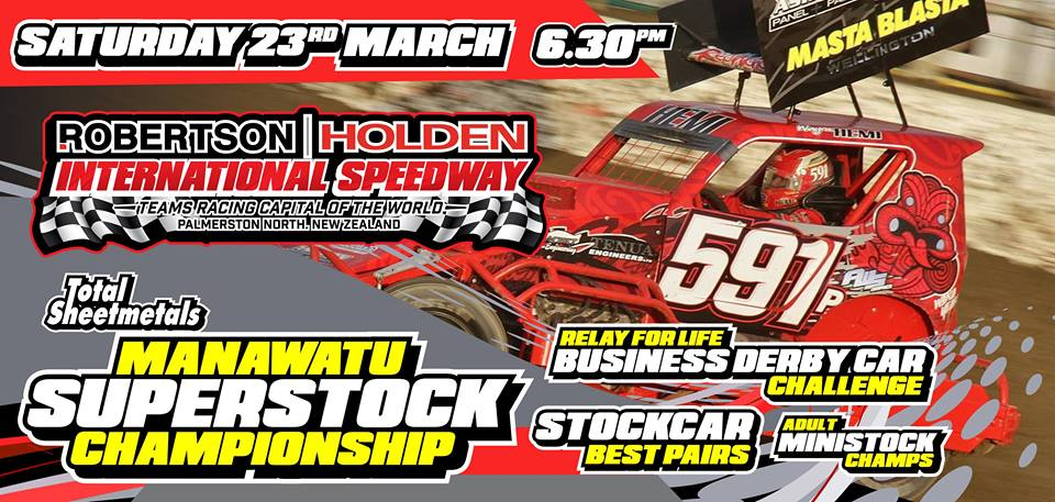 PN Speedway - Manawatu Superstock Champs & Business Derby Challenge