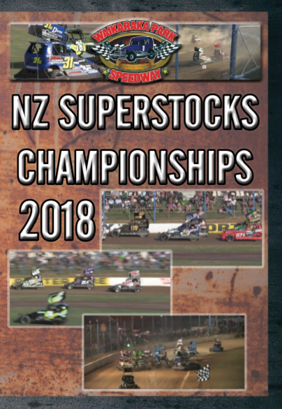 2018 NZ Superstocks Dual Dvd