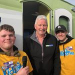 Calvin &UY Corbyn with Venture Southland CEO Paul Casson at Kidzone 2018