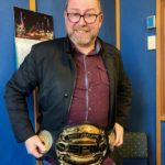 Station Manager Darren fancies himself a champion wrestler (*yeah, right)